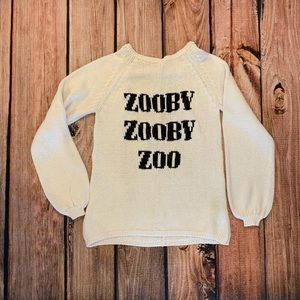Wildfox Zooby Zooby Zoo Sweater